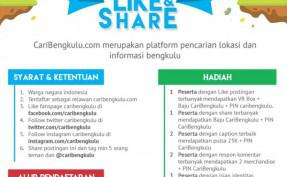 Lomba Like and Share CariBengkulu