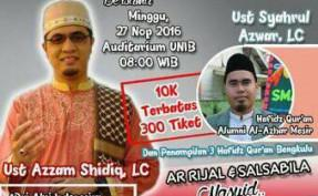 TALK SHOW MINI KONSER PEDULI AL-QUR'AN
