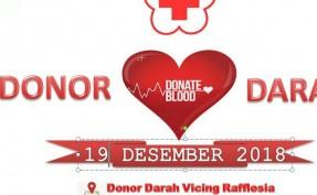 Donor Darah Vicing Rafflesia