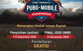 Game-Z Bengkulu Player PUBG Mobile Championship