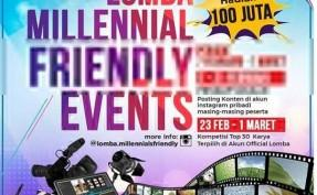 Lomba Millennial Friendly Events gaes.